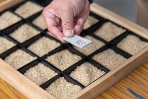 昨年から、お米の「農産物検査」をさくらや農園でおこなっています。